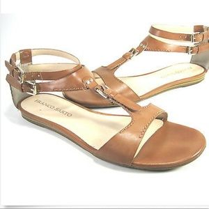 Franco Sarto L Frisco Buckle Detail Sandals